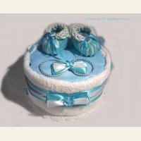 Торт - подарок на рождение малыша